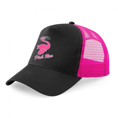 Cappello Trucker PINK RUN - Nero/Fucsia