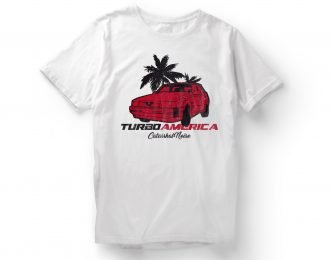 T-shirt TURBO AMERICA – CATARRHAL NOISE