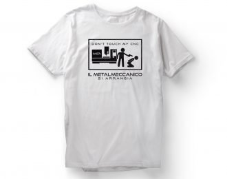 T-shirt DON'T TOUCH MY CNC